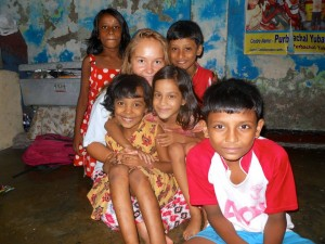 Avec les enfants du CEEP
