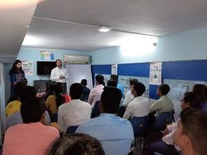 Classe d'étudiants suivant le Digital Marketing Program